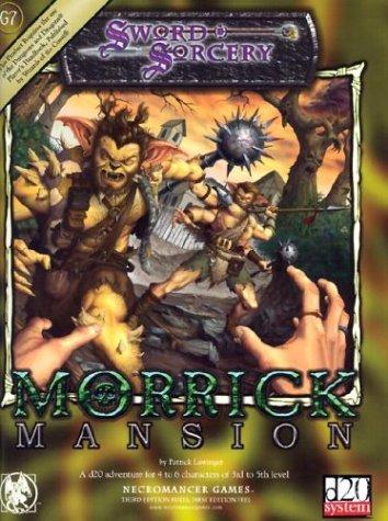 9781588460974: Morrick Mansion (d20 Generic System)