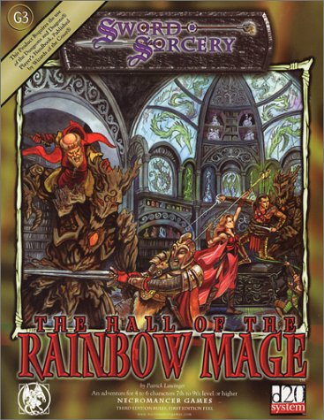 Hall of the Rainbow Mage, The (d20 Fantasy Adventures (Necromancer Games)): Patrick Lawinger