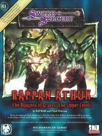9781588461568: Rappan Athuk: The Dungeon of Graves (d20 Generic System)