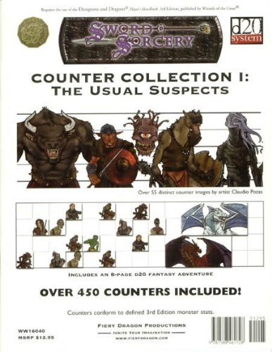 9781588461728: Counter Collection, Vol. 1 (Sword & Sorcery)