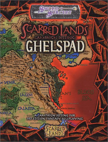 9781588461841: Scarred Lands Campaign Setting Ghelspad (d20 Generic System)
