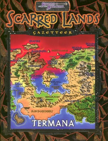 9781588461865: Scarred Lands Gazetteer: Termana