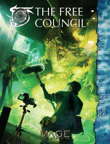 9781588464323: The Free Council (Mage the Awakening)