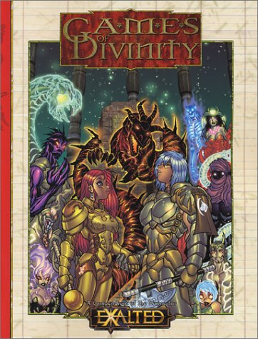 9781588466594: Games of Divinity: A Compendium of the Divine (EXALTED Roleplaying, WW8823)