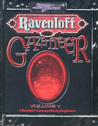 Gazetteer Volume V (Ravenloft (d20)): Jackie Cassada