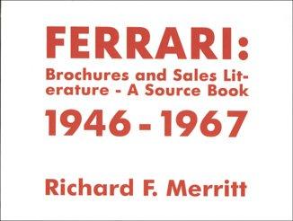 Ferrari: Brochures and Sales Literature - A