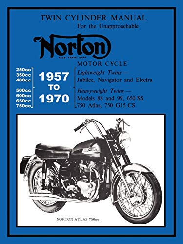 9781588500694: NORTON MOTORCYCLES FACTORY WORKSHOP MANUAL 1957-1970