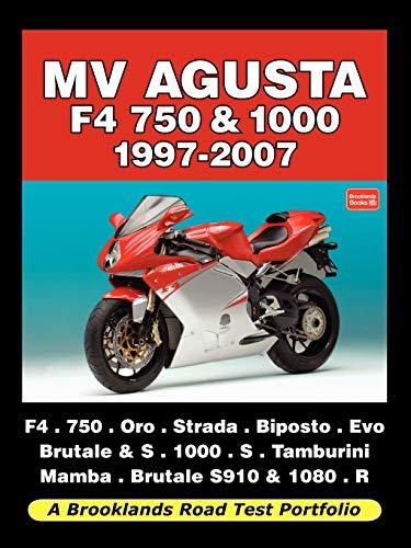 9781588500779: MV AGUSTA F4 750 & 1000 1997-2007 - ROAD TEST PORTFOLIO