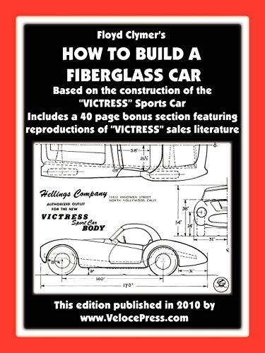 9781588500984: How to Build a Fiberglass Car