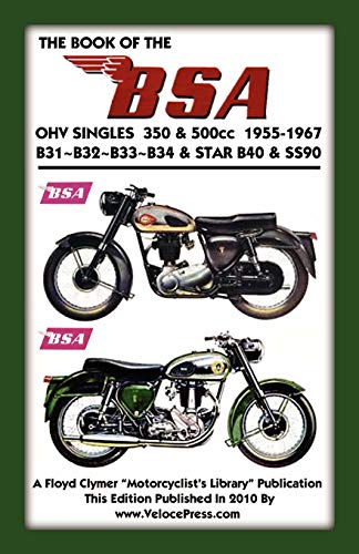 9781588501561: Book of the BSA Ohv Singles 350 & 500cc 1955-1967