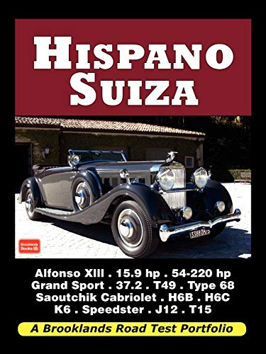 9781588501608: Hispano Suiza - Road Test Portfolio