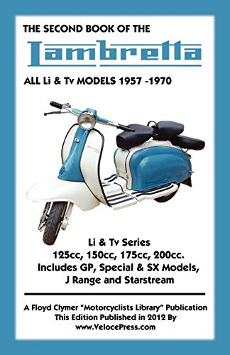 SECOND BOOK OF THE LAMBRETTA ALL Li