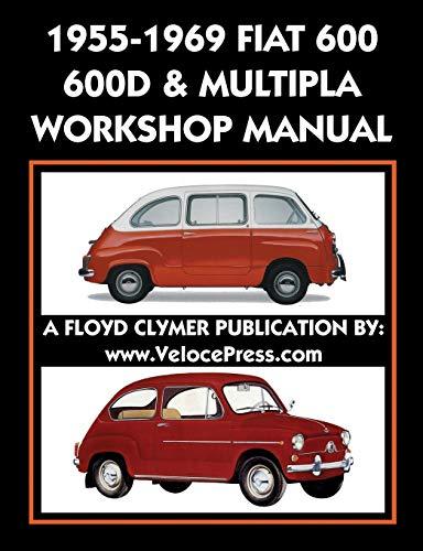 1955-1969 Fiat 600 - 600d & Multipla: Fiat S P