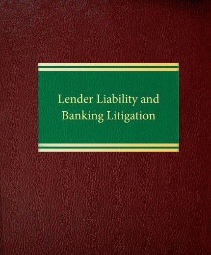 Lender Liability and Banking Litigation: Edward F. Mannino