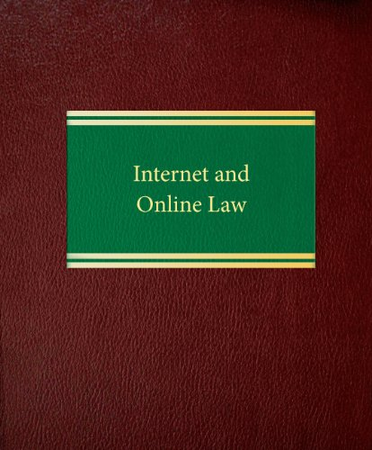 9781588520746: Internet and Online Law (Commercial Law Series)