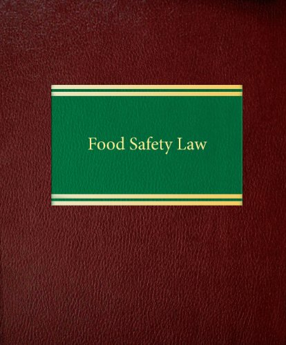 Food Safety Law: by James F.