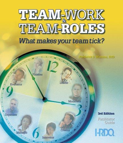 9781588542939: Team-Work & Team-Roles 3rd Edition Starter Kit