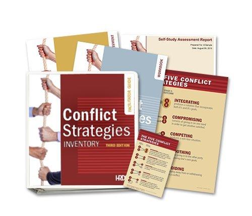 9781588542977: Conflict Strategies Inventory Facilitator Set