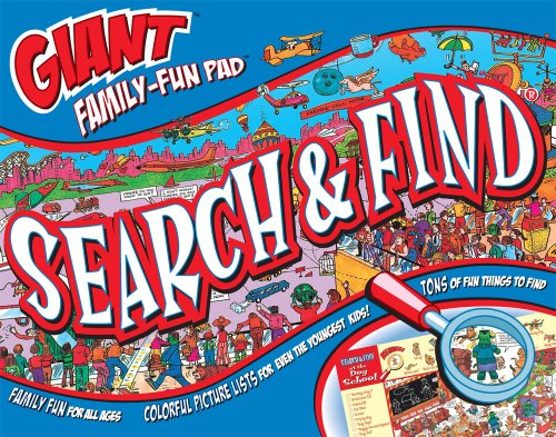 9781588654489: Giant Family-Fun Pad Search & Find®