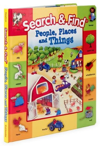 9781588655417: Search and Find: People, Places and Things