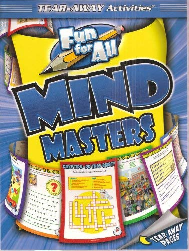 Fun For All Mind Masters - Tear Away Activities (4 Different Levels of Difficulty for All Ages): ...