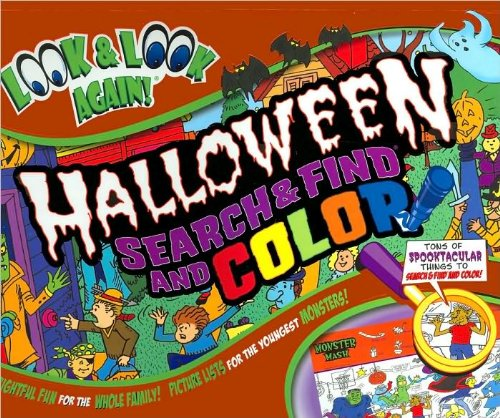 Halloween Search and Find and Color Look: Tony Tallarico (Illustrator)