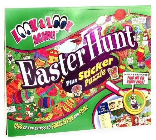 Easter Hunt Plus Sticker Puzzle (Look & Look Again Series): Tony Tallarico (Illustrator) ...