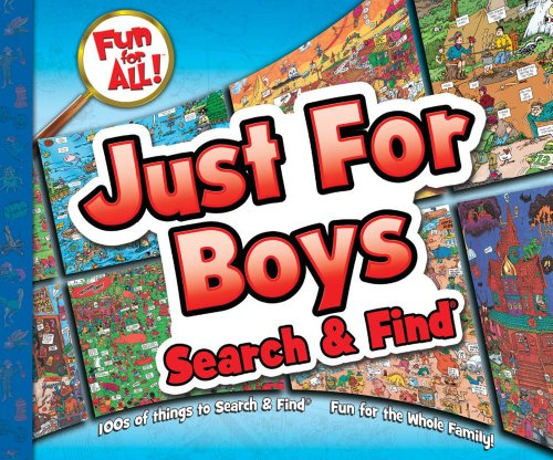 9781588656858: Just for Boys Search & Find®