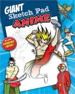 9781588656902: Giant Sketchpad Anime