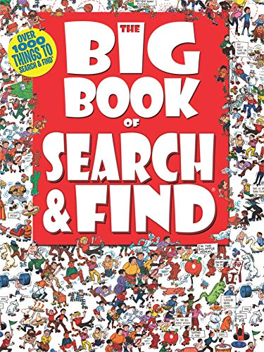9781588658128: The Big Book of Search & Find (Children's Activity Book)