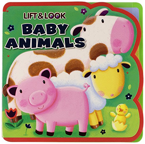 9781588658517: Lift & Look Baby Animals
