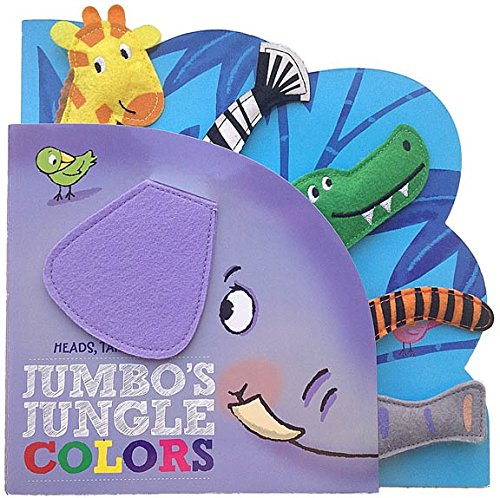 9781588658937: Heads Tails Noses Jumbo's Jungle Colors