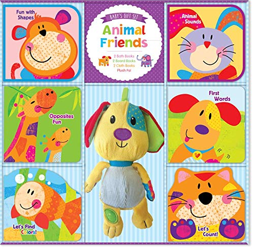 9781588659224: Brand New Animal Friends Baby Gift Set by The Editors at Kidsbooks
