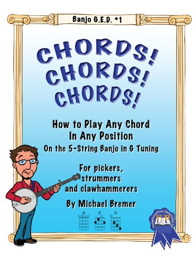 9781588700001: Banjo GED #1: Chords! Chords! Chords!