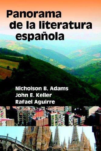 9781588710864: Panorama de La Literatura Espaqola (Hispanic Monographs) (Spanish Edition)