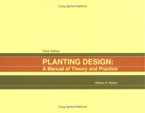 9781588743589: Planting Design: A Manual Of Theory And Practice