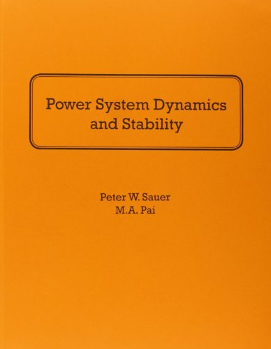Power System Dynamics and Stability: Peter W. Sauer