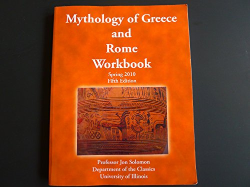 9781588749437: Mythology of Greece and Rome Workbook (Spring 2010, Fifth Edition)