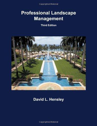 9781588749505: Professional Landscape Management
