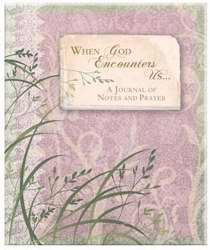 9781588780027: Journal When God Encounters Us