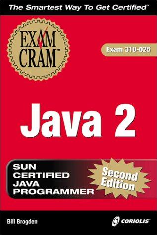 9781588801395: Java 2 Exam Cram, Second Edition (Exam: 310-025)
