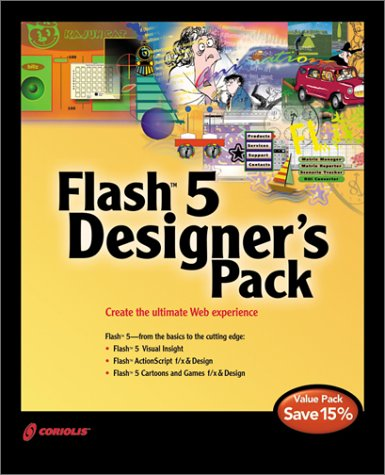 9781588801678: Flash 5 Designer's Pack