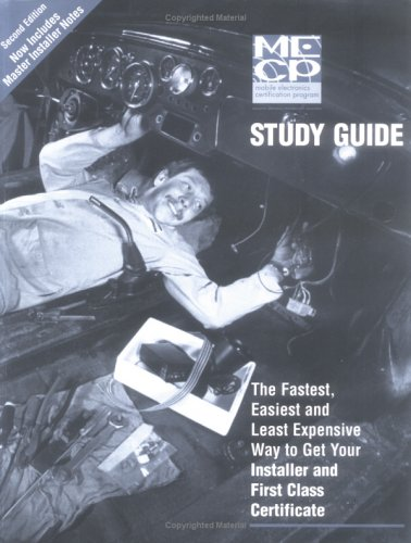 9781588870025: Mobile Electronics Certification Program (MECP) Study Guide