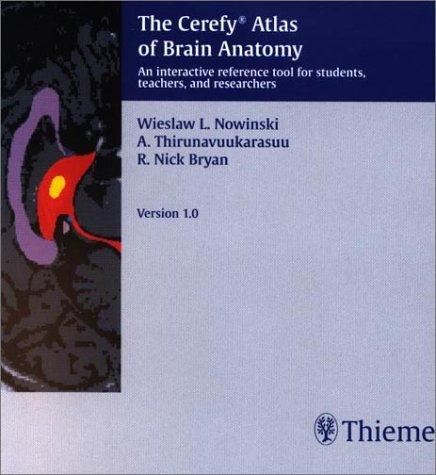 9781588901002: The Cerefy Atlas of Brain Anatomy (CD-ROM)