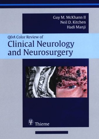 9781588901545: Clinical Neurology and Neurosurgery: Q & A Color Review