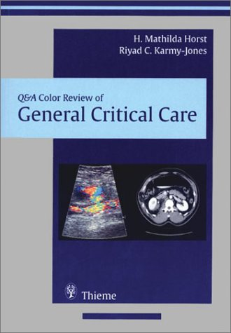 General Critical Care (Q&A Color Review)