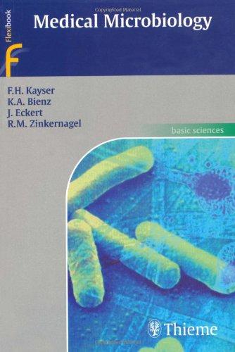 9781588902450: Medical Microbiology (Flexibook)