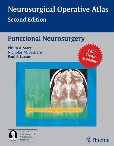 9781588903990: Functional Neurosurgery (AAN)