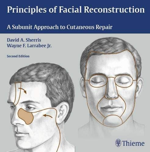 9781588905123: Principles of Facial Reconstruction: A Subunit Approach to Cutaneous Repair