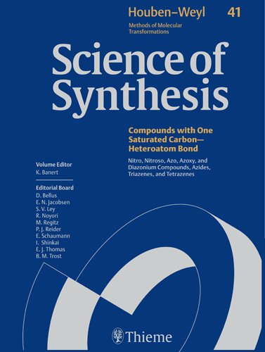 9781588905321: Science of Synthesis Houben-weyl Methods of Molecular Transformations: Category 5 Compounds With One Saturated Carbon-heteroatom Bonds